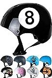 Skullcap Helmets Kinder NextLevel Longbard-Helm Black-8, S (53 – 55 cm)