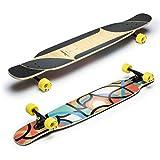 Loaded Boards Longboard Komplettboard Bhangra V2 Freestyle & Dancing Fullshape 123,2cm Flex 1 (Hard Flex)