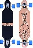 Longboard Drop Through Cruiser für Kinder - Longboard für Anfänger - Komplettboard - ROLLERCOASTER - DIGI FOX