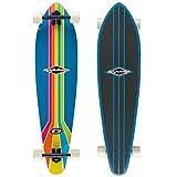 Osprey 40in Retro Complete Pintail Longboard/Cruiser Skateboard - B-Grade