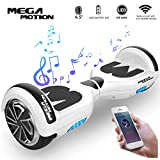 Mega Motion Elektro Scooter E1-6,5' Segway -Bluetooth - EU Sicherheitstandard
