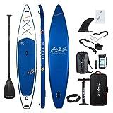 BATURU aufblasbares SUP Board, Stand-up Paddle Board, Sup Paddleboard 381 x 76 x 15 cm,iSUP Paket mit allem Zubehör