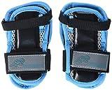 K2 Damen Schoner Inline Skates Pad Set PERFORMANCE W WRIST GUARD, Mehrfarbig (Blau/Schwarz), S