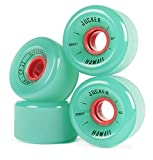 JUCKER HAWAII Longboard Rollen / Wheels STREETBALLS - SUPER BALLS Green