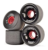 JUCKER HAWAII Longboard Rollen / Wheels STREETBALLS - FOAM BALLS Black