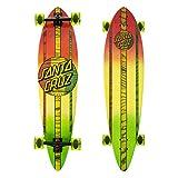 Santa Cruz Longboard Mahaka Rasta Fade Pintail, 9.5 x 39.0 Zoll, SANLOBMAHRASFA