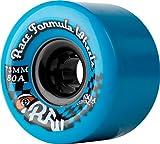 Sector 9Race Formula Skateboard-Rollen, blau, 73mm 80A, (4Stück)