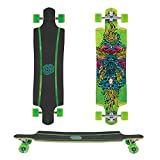 SANTA CRUZ Longboard SEA GOD green 9.9''