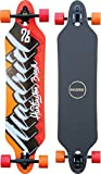 Madrid Tombstone 38.375' Drop-Thru Phat Script Longboard, One Size
