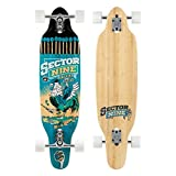 Sector 9 Striker Komplett Skateboard, Blau