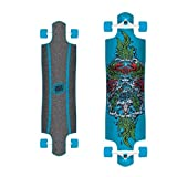 Santa Cruz Skateboard Longboard Sea God Blue 10.0 Zoll
