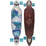 Osprey Skateboard, Longboardvon, Twin Tip, Unisex, komplett, Kinder, Diamond, braun
