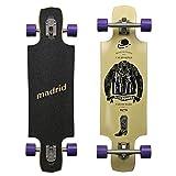 Madrid MADE IN USA Twin-Tip Longboard, Drop-Through - Standart, Riot Tailored, Komplettboard Freeride Cruiser Board