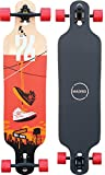 Madrid Trance 39' Drop-Thru Shoes Longboard, One Size