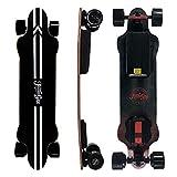 Teamgee H20 Elektro-Skateboard mit kabelloser Fernbedienung, Longboard-Skateboards für Jugendliche und Erwachsene, 26 PMH Höchstgeschwindigkeit, 1080 W Nabenmotoren, 30 km Reichweite