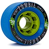 Landyachtz MINI Zombie Hawgs Longboard Wheels 2014 70mm 78a Blue by Landyachtz