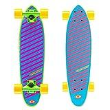 Osprey Unisex Complete Cruiser Skateboard, 61cm, Unisex, Glow, Leuchtend