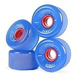 JUCKER HAWAII Longboard Rollen/Wheels STREETBALLS - SUPER Balls Blue