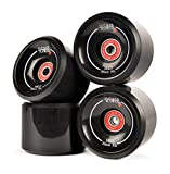 JUCKER HAWAII Longboard Slide Rollen/Slide Wheels HUI (inkl. Kugellager und Spacer)