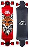 Landyachtz Switch 40 Longboard Complete Skateboard. Dropped deck freeriding exceptionally staple symmetrical design by Landyachtz