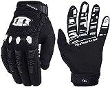 Seibertron Dirtpaw Unisex rutschfeste Bike Bicycle Cycling/Radsport Racing Mountainbike Handschuhe für BMX MX ATV MTB Motorcycle Motocross Motorbike Road Off-Road Race Touch Screen Gloves Black XL