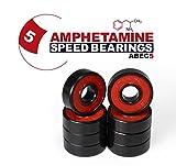 Skateboard Kugellager Amphetamine ABEC 5 für Skateboard, Longboard, Inline SKates, Fidget Spinner
