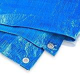 Bradas PL3/5 Abdeckplane 3 x 5 m, 60 g, blau