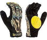 LANDYACHTZ Werewolf Slide Handschuhe Longboard Unisex Erwachsene, Mehrfarbig, Größe XL