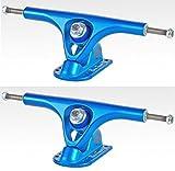 PARIS Longboard Skateboard Achsen V2 Set 180mm / 50° Candy Blue (2 Achsen)