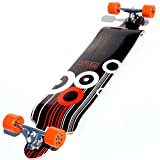 Atom Drop Down Longboard - Orange, 41 Inch
