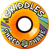 Sector 9 skiddles Longboard Wheels – 70 mm 78 A Orange by SECTOR 9