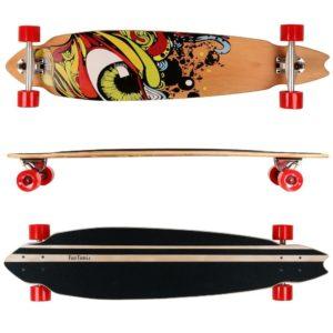 Komplettboard - FunTomia Longboard für Anfänger