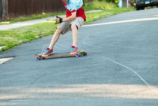 Longboard Bremsen